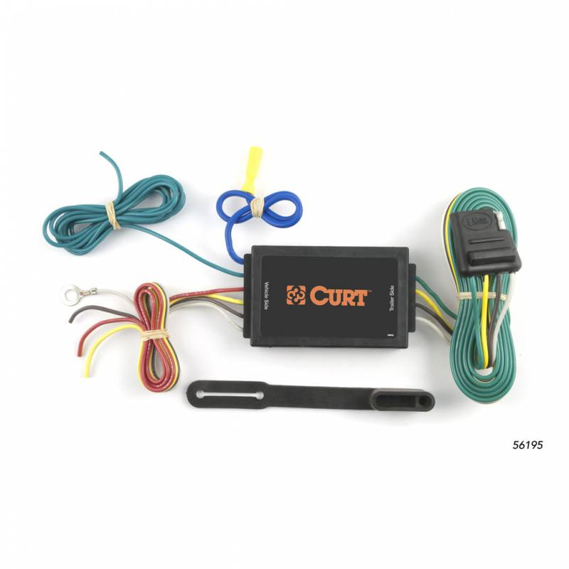 CURT Taillight Converter - Adapts vehicles with separate turn and ...