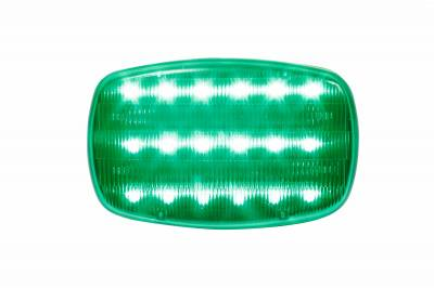 Custer Products - Custer HF18SG-PHD Super Green LED Light - Battery Powered - Heavy Duty Magnets - Clamshell