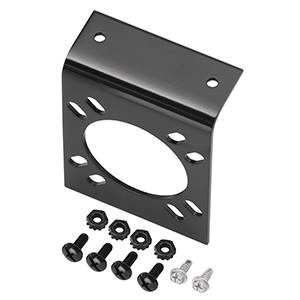 Tow Ready - Tow Ready Mounting Bracket for 7-Way OEM Connectors, Includes Screws and Nuts