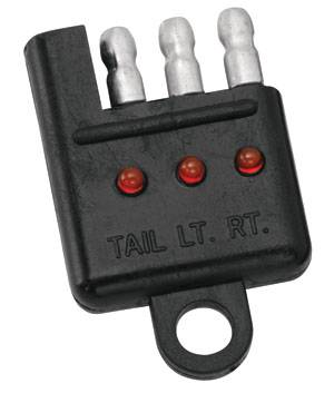 Tow Ready - Tow Ready 4-Flat Car End Tester w/LED Display