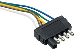 "Tow Ready - Tow Ready 5-Flat 48"" Trailer End Wiring Harness"