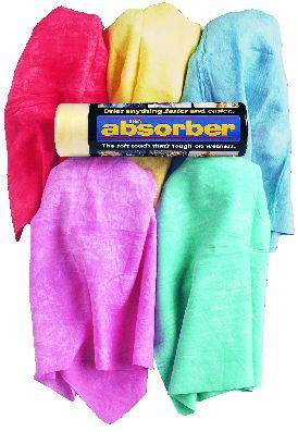 "CleanTools - The Absorber ""mini"" 17"" x 13""  (available in assorted colors)"