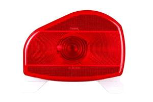 Bargman - BARGMAN 30-07-100 STOP/TAIL/TURN LIGHT SURFACE/HORIZONTAL MOUNT #07 SERIES W/LICENSE LIGHT & BRACKET, LEFT/ROADSIDE