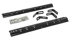 Pro Series - Pro Series 30095 Universal Fifth Wheel Rails and Installation Kit