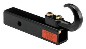 "Tow Ready - Tow Ready 63047 Receiver Mount Tow Hook, Hollow Shank, GWR 8,000 lbs. 7"" Length"
