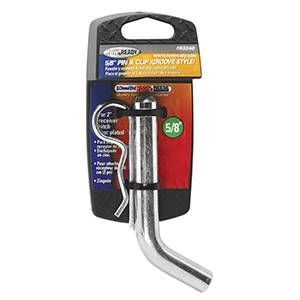 "Tow Ready - Tow Ready 63240 Packaged 5/8"" Grooved Style Hitch Pin and Clip for 2"" Sq. Receivers"