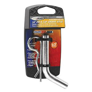 "Tow Ready - Tow Ready 63241 Packaged 1/2"" Grooved Style Hitch Pin and Clip for 1-1/4"" Sq. Receivers"