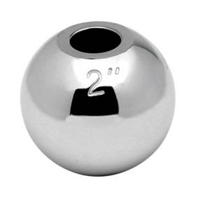 "Tow Ready - Tow Ready 63806 Interchangeable Hitch Ball, 2"" Replacement Ball for 3/4"" & 1"" Shanks"