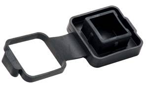 """Tow Ready - Tow Ready 5330 Hitch Hider Tube Cover, 2"""" Sq. Receivers w/Built-In 4-Flat Electrical Cover"""