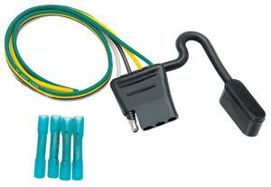 "Tow Ready - Tow Ready 20250 4-Flat Wiring Kit, Contains 12"" 16 ga. for Vehicles w/Factory Wiring Harness w/o Plug"
