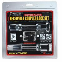 Trimax Locks - Trimax Locks TM32 T3 - 5/8 in. Receiver & TC2 - 2-1/2 in. Span Coupler Lock