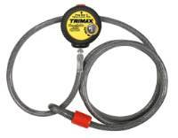 Trimax Locks - Trimax Locks VMAX6 6' X 10 mm  Versa-Cable Locking System