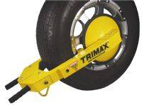 Trimax Locks - Trimax Locks TWL100 Ultra-Max Adjustable Wheel Lock with Steel Disc Cover