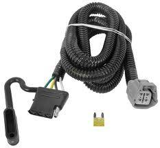 Tow Ready - Tow Ready 118245 Replacement OEM Tow Package Wiring Harness (4-Flat)
