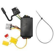 Tow Ready - Tow Ready 118249 Replacement OEM Tow Package Wiring Harness (4-Flat) with Circuit Protected ModuLite Module