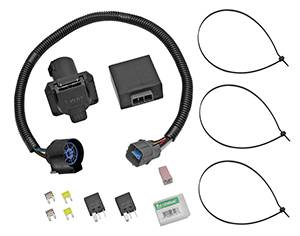 Tow Ready - Tow Ready 118253 Replacement OEM Tow Package Wiring Harness (7-Way) with Circuit Protected ModuLite HD Module