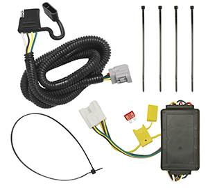 Tow Ready - Tow Ready 118255 Replacement OEM Tow Package Wiring Harness (4-Flat) with Circuit Protected ModuLite Module