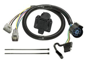 Tow Ready - Tow Ready 118262 Replacement OEM Tow Package Wiring Harness (7-Way/4-Flat Combo)