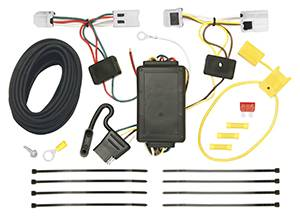 Tow Ready - Tow Ready 118470 T-One Connector Assembly with Upgraded Circuit Protected Modulite Module