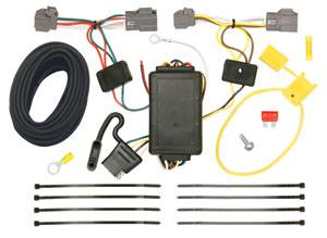 Tow Ready - Tow Ready 118471 T-One Connector Assembly with Upgraded Circuit Protected Modulite Module