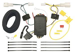 Tow Ready - Tow Ready 118477 T-One Connector Assembly with Upgraded Circuit Protected Modulite Module