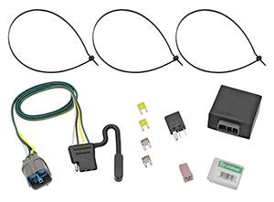 Tow Ready - Tow Ready 118491 T-One Connector Assembly with Upgraded Circuit Protected Modulite HD Module