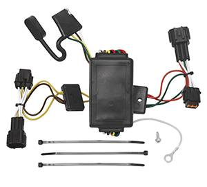 Tow Ready - Tow Ready 118492 T-One Connector Assembly with Upgraded Circuit Protected Converter