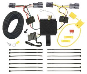 Tow Ready - Tow Ready 118506 T-One Connector Assembly with Upgraded Circuit Protected Modulite HD Module