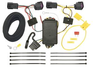 Tow Ready - Tow Ready 118508 T-One Connector Assembly with Upgraded Circuit Protected Modulite Module