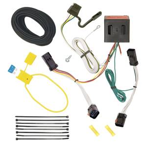 Tow Ready - Tow Ready 118524 T-One Connector Assembly with Upgraded Circuit Protected Modulite HD Module