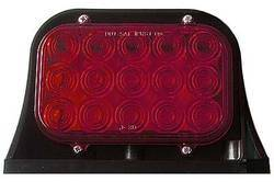 Custer Products - Custer AG-LED-RED LED Ag Single - Red  3 Wire