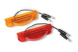 Custer Products - Custer CPL9522-A Sealed Rectangular LED Marker Light - Amber with 7 Diodes