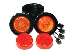 Custer Products - Custer G25R Round Sealed Clearance Light