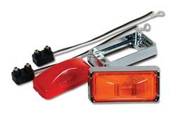 Custer Products - Custer G26A 2.5 in. x 1.25 in. Amber Clearance/Marker Light