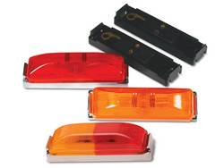 Custer Products - Custer G3RA 3 13/16 in. Red/Amber Sealed Clearance/Marker Light