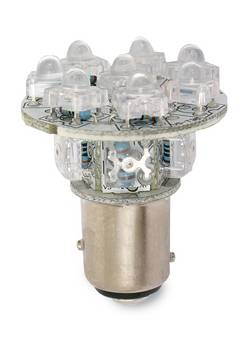 Custer Products - Custer LED1157R13 LED Replacement Bulb for 1157 - 13 LEDs - Red