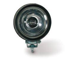 Custer Products - Custer S451 4 in. Round Spot Light - 12V - 55W Halogen - Rubber Housed