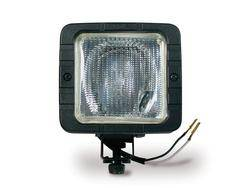 Custer Products - Custer S722 4 in. Square High Performance Halogen Light - 12V - 55W Halogen