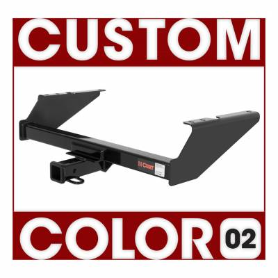 CURT - CURT Mfg 1303802 Class 3 Hitch Trailer Hitch - Hitch only. Ballmount, pin & clip not included