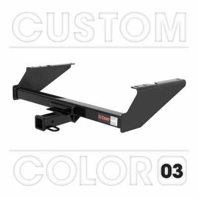 CURT - CURT Mfg 1303803 Class 3 Hitch Trailer Hitch - Hitch only. Ballmount, pin & clip not included