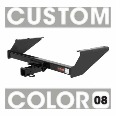 CURT - CURT Mfg 1303808 Class 3 Hitch Trailer Hitch - Hitch only. Ballmount, pin & clip not included