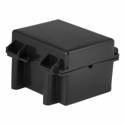 CURT - CURT Mfg 52027  Battery Case - Water-tight case with rubber gaskets & screw-tight lid