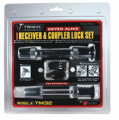 TRIMAX LOCKS - Keyed-Alike Receiver & Coupler Lock Sets - Trimax Locks - Trimax Locks TM32 T3 - 5/8 in. Receiver & TC2 - 2-1/2 in. Span Coupler Lock