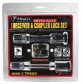 TRIMAX LOCKS - Keyed-Alike Receiver & Coupler Lock Sets - Trimax Locks - Trimax Locks TM33 T3 - 5/8 in. Receiver & TC3 - 3-1/2 in. Span Coupler Lock