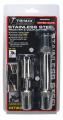 TRIMAX LOCKS - Keyed-Alike Receiver & Coupler Lock Sets - Trimax Locks - Trimax Locks SXTM31 Stainless Steel T3 - 5/8 in. Receiver & TC1 - 7/8 in. Span Coupler Lock