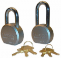 TRIMAX LOCKS - Magnum Padlocks & Door Locks - Trimax Locks - Trimax Locks TPL1251S Hardened 64mm Solid Steel Padlock with 1.25 in. X 11mm Diameter Shackle - Re-Keyable