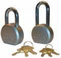 TRIMAX LOCKS - Magnum Padlocks & Door Locks - Trimax Locks - Trimax Locks TPL2251L Hardened 64mm Solid Steel Padlock with 2.25 in. X 11mm Diameter Shackle - Re-Keyable
