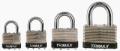 TRIMAX LOCKS - Laminated Solid Steel Padlocks - Trimax Locks - Trimax Locks TLM100 Dual Locking 40mm Solid Steel Laminated Padlock with 1 in. X 1/4 in.